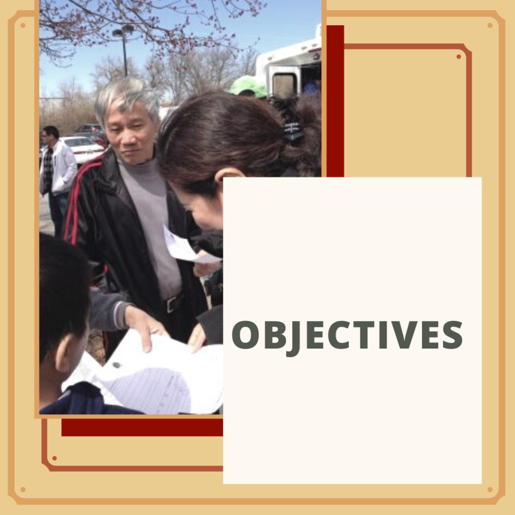 Vietnamese American Services Objectives