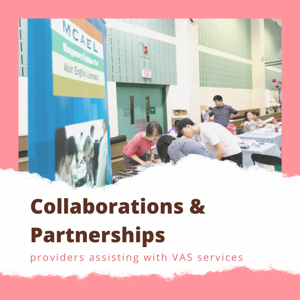 Vietnamese American Services Collaborations and Partnerships