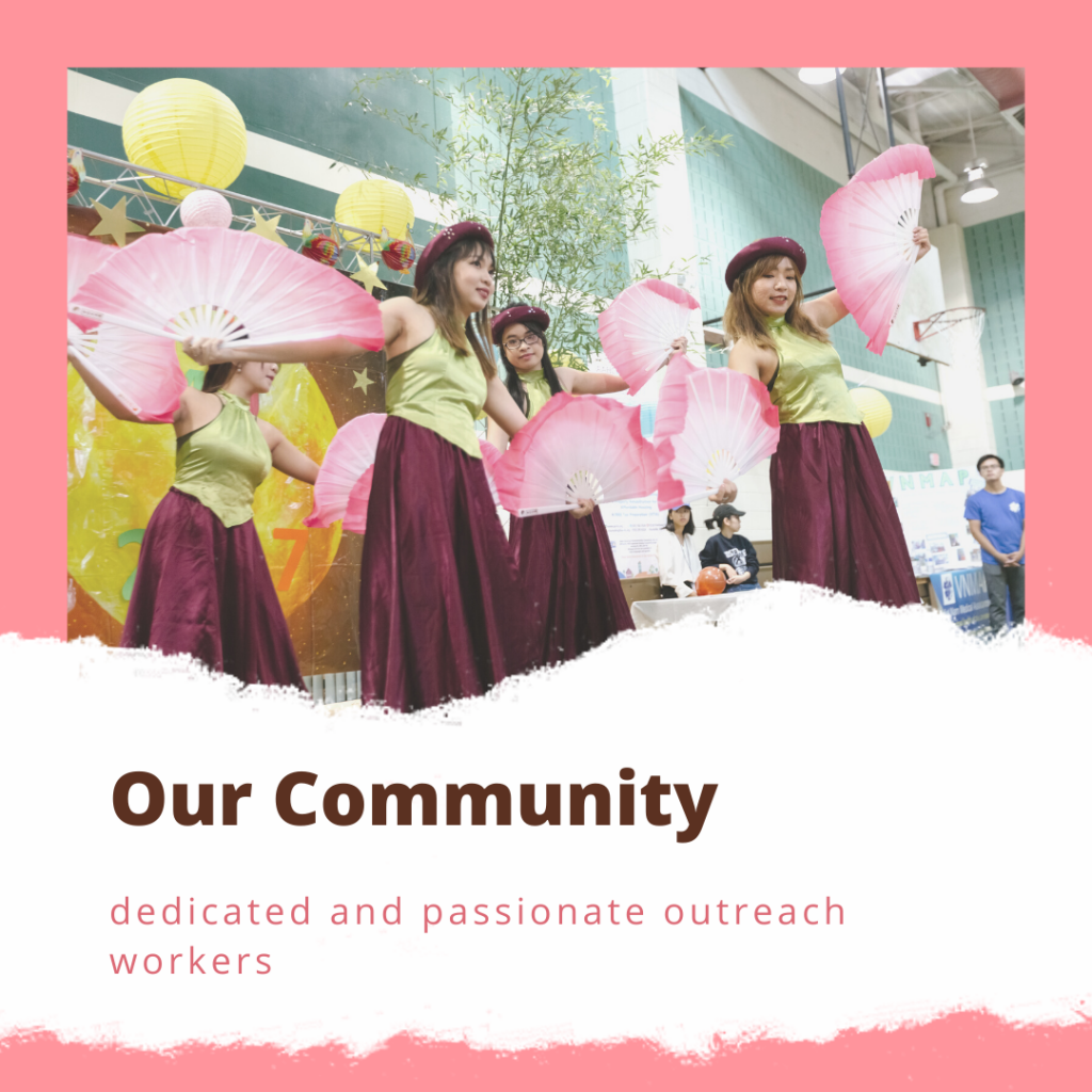 Vietnamese American Services Dedicated & Passionate Outreach Workers