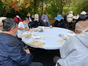 VAS Senior Club playing Bingo